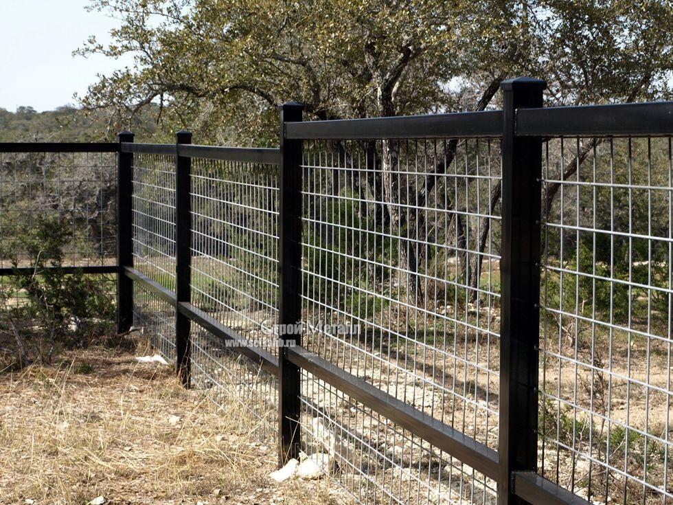 забор из кладочной сетки